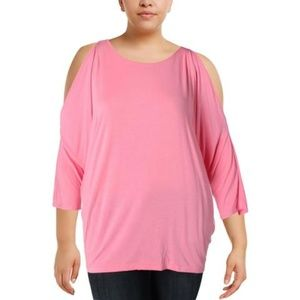 Lauren Ralph Lauren Cold Shoulder Blouse